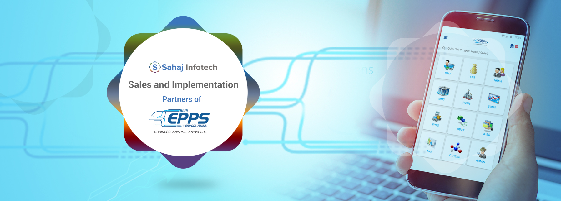 Sahaj Infotech Sales and Implementation EPPS Infotech